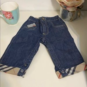 Burberry infant Jeans